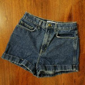 High Waisted Denim Jean Shorts size 28